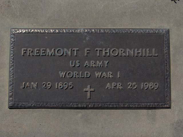 Freemont F Thornhill