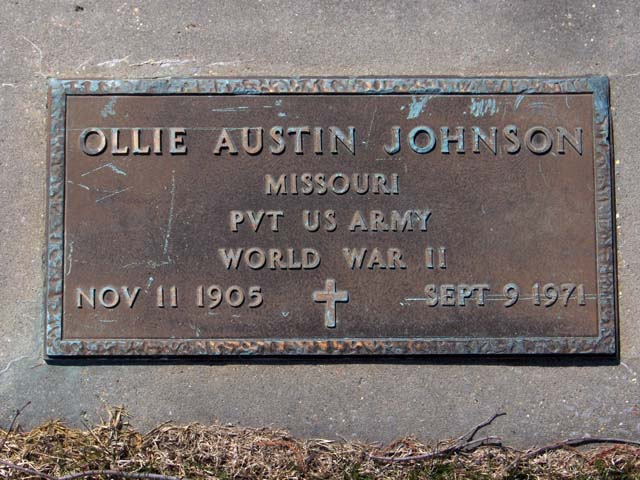 Ollie Austin Johnson